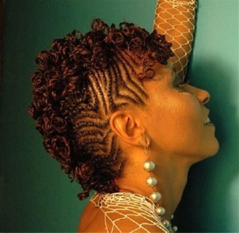 mohawk twist hairstyle mohawk hairstyles for black women 10 best mohawk