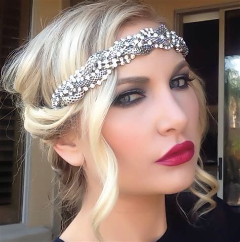 gatsby hairstyles for women luster luxe great gatsby hair tutorial kimmie s