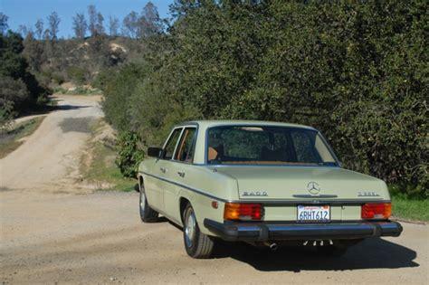1976 Mercedes 240d by Mercedes Motoring 1976 240d Diesel Sedan
