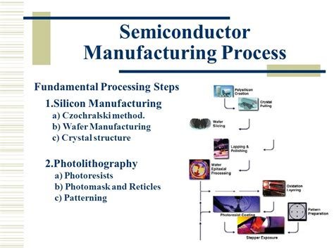 integrated circuit manufacturing ppt integrated circuits fabrication process ppt 28 images basic concept of integrated circuits