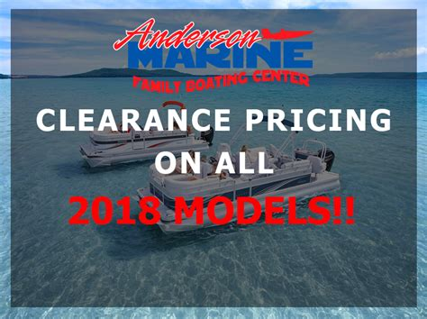 used pontoon boats for sale near nashville tn anderson marine new used boats outboards service