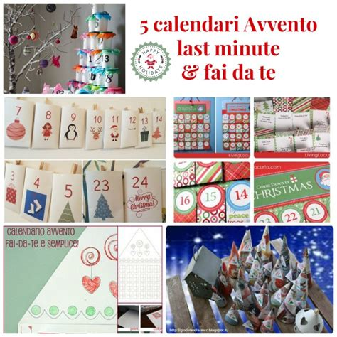 Calendario Avvento Whatsapp 5 Calendari Dell Avvento Last Minute Fai Da Te Babygreen