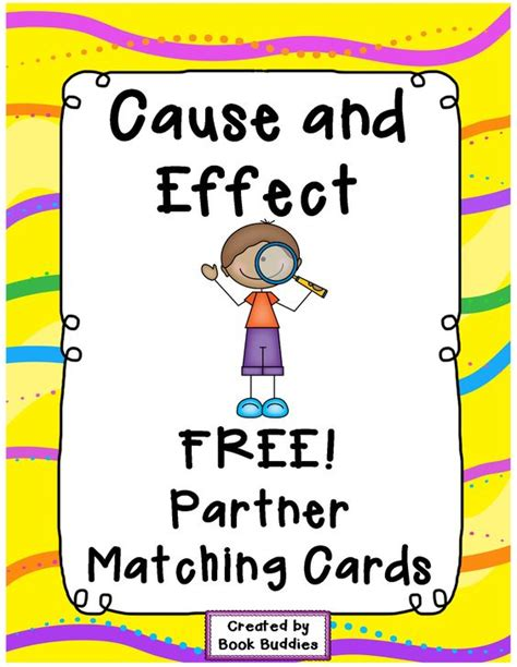 picture books for cause and effect cause and effect literacy centers and cards on