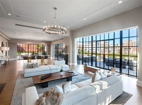 Nyc Apartments Open Houses Rentals 66 Million Newly Built Duplex Penthouse In New York Ny