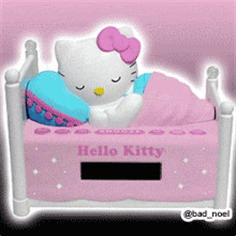 imagenes buenas noches hello kitty hello kitty 3d dormida etiquetas cama acostada sue 241 o zzz