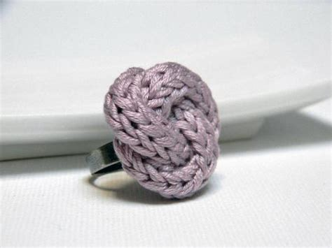 knitting ring knitted ring knitting is awesome