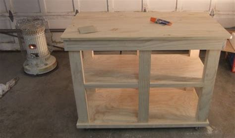how to build a kitchen island cart kitchen island project coptool
