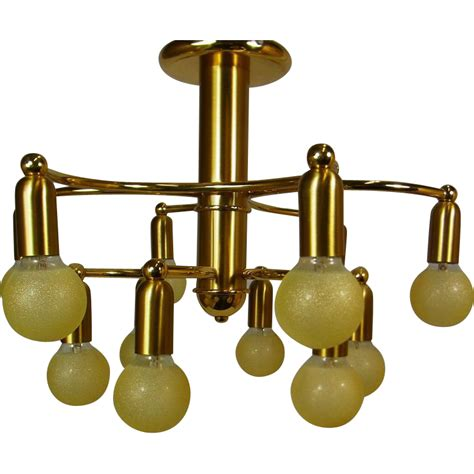 Mid Century Flush Mount Lighting by No Shop Available