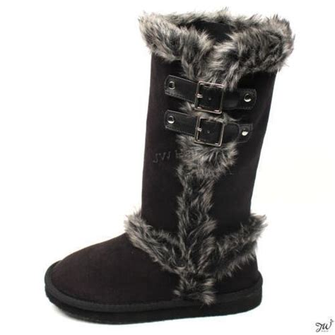 boots with fur fur boots ebay