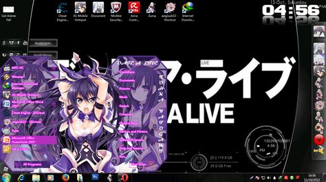 download theme windows 7 yatogami tohka theme windows 7 date a live yatogami tohka