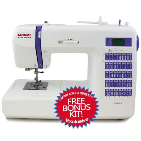 Janome Dc2014 Computerized Sewing Machine With Free Bonus Best Machines Review