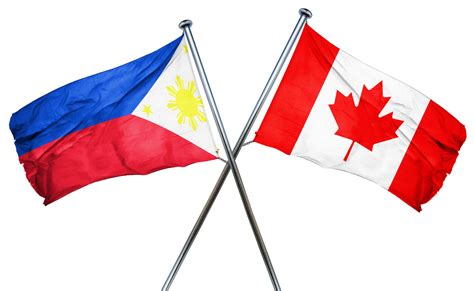 Philippines Canada Flag Migration From The Philippines To Canada On The Rise