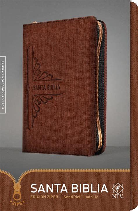 libro santa biblia ntv compacta zipper closure santa biblia ntv edici 243 n z 237 per holy bible ntv zipper edition 9781496422330