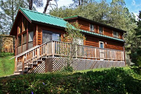 cabin park cabin vacation rentals near yosemite national park