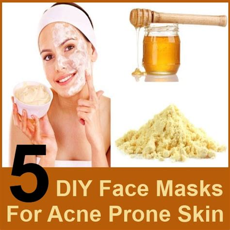 home remedies for acne mask skin problems during