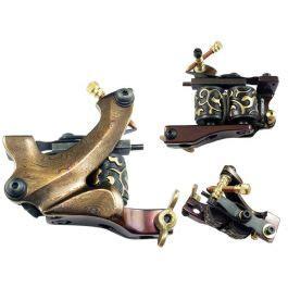tattoo machine hertz salute handcrafted damascus steel shader machine