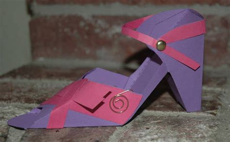 Paper Craft Shoes - craftin pam ravenscroft shoes paper craft