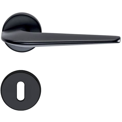 Door Handles Interior Door Handle H1052 Supersonic Interior Black Black Door Handles Villahus Co Uk