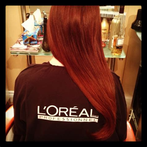 loreal hair color chart ginger 20 best loreal haircolor images on pinterest red heads