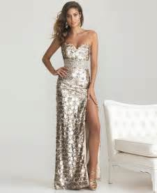 Plus size gold sequin prom dress car tuning