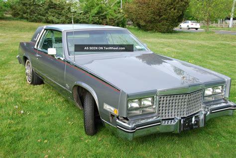1980 Cadillac Eldorado Biarritz Coupe 2   Door 5. 7l Rare