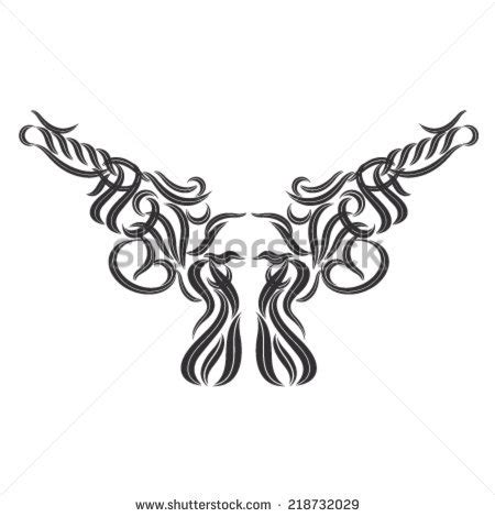 tribal gun tattoo stock photos royalty free images vectors