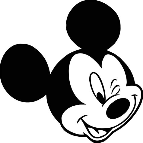 coloring pages of mickey mouse face animal kingdom mickey mouse face coloring page