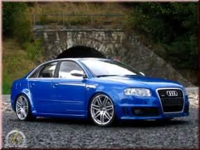 Rs 4 Audi by Audi Rs4 Blau Kit Suspension Rabaissee Minichs
