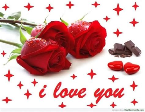 love you heart and roses i love you pictures images graphics and comments