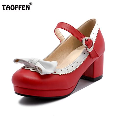 thick high heel shoes taoffen thick high heel shoes patchwork