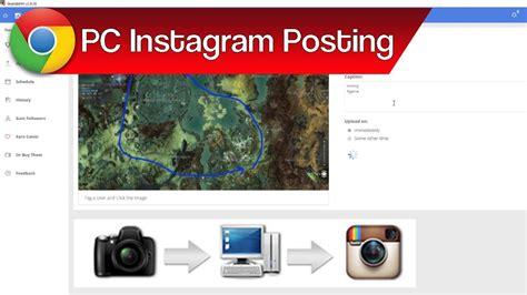 instagram tutorial desktop how to post pictures to instagram from pc instagram