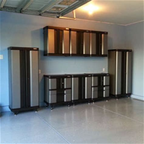 getting assembling and installing storage cabinets