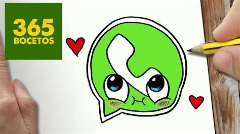 imágenes kawaii fáciles de hacer como dibujar whatsapp enamorado kawaii paso a paso