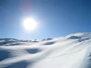 Snowy sahara virgin snow above le fornet not far from 38 le