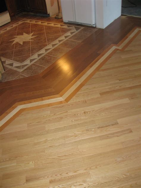 Floor Transition Ideas Floor Transitions Between Kitchen And Tile Search Flooring Pinterest