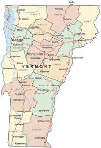 Vermont State Map by Printable Us State Maps Free Printable Maps