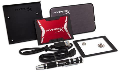 Kingston Ssd Hyper X Savage 960gb kingston hyperx savage ssd modellerini duyurdu pcfrm