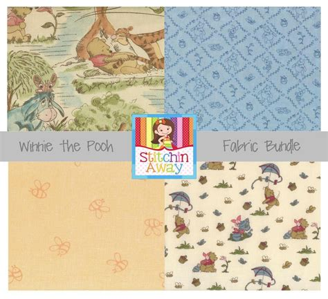 Winnie The Pooh Quilting Fabric by Winnie The Pooh Tigger Quilting Fabric Sewing Toile