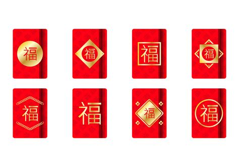 golden chinese red packet template   vector art stock graphics images