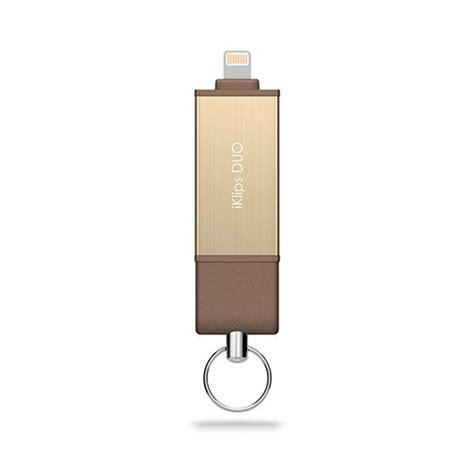 Adam Elements Iklips Flash Drive 128gb Gold adam elements iflashdrive 128gb iklips duo pre iphone gold istores apple premium