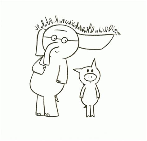 elephant piggie coloring page coloring home 17 mo willems pigeon coloring page mo willems coloring