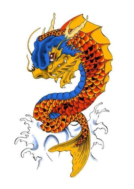 tattoo dragon koi fish 17 best ideas about koi dragon tattoo on pinterest koi