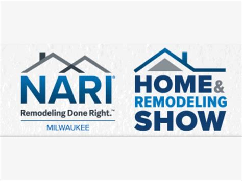 oct 13 milwaukee nari home remodeling show scheduled