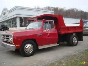 1989 Dodge Truck 1989 Dodge Ram Truck D350 Regular Cab Dump Truck