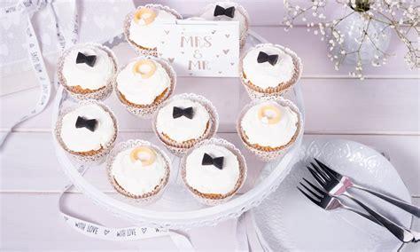 Hochzeit Cupcakes by Hochzeits Cupcakes Rezept Dr Oetker