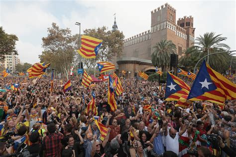 In Spain spain dismisses catalonia government after region declares