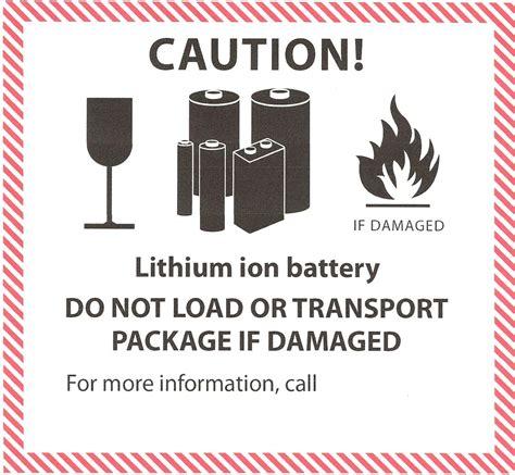 Aufkleber Gefahrgut Lithium Batterien Kostenlos by Lithium Batterien Und Akkus Umweltbundesamt