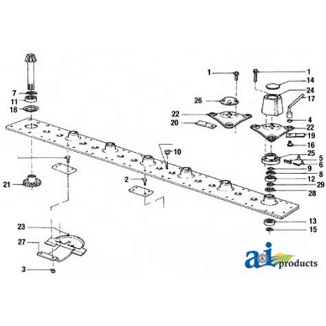 kuhn mower parts diagram 90261559 blade disc mower lh