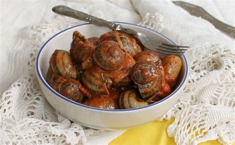 come cucinare le lumache in umido zuppetta di lumache in umido con pomodoro