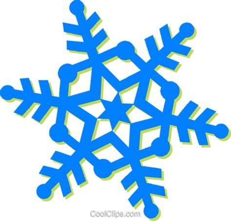 clipart neve floco de neve livre de direitos vetores clip